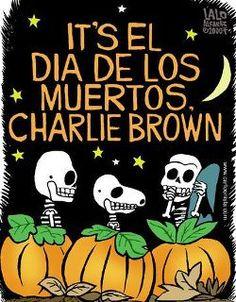 Charlie Brown and Dia de los Muertos