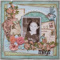 Once Upon a Springtime Layout by @Gabrielle Pollacc