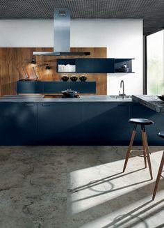 Die 78 Besten Bilder Von Dunkle Küchen Schick Durch Schwarz Grau