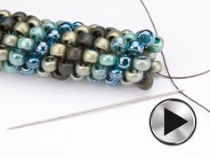 How to do tubular peyote ~ Seed Bead Tutorials