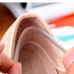Prevent slippage with heel grips. | 21 Helpful Hacks That'll Make Your Shoes More Comfortable