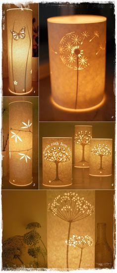 DIY AND CRAFT MIRACLES : Beautiful Paper Lamps