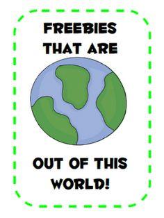 New blog - FREEBIES!