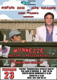 Taranto – Con lo spettacolo: 'Munnézze (racconti indifferenziati) chiave comica si parla dei tarantini