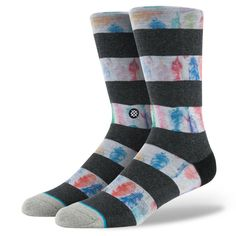 Stance | Feathers Black socks | Buy at the Official website Stance.com.