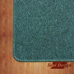 Carpeta Alfombra Boucle Verde Eucalipto 162 X210cm Fundasoul