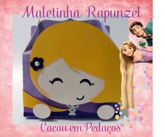 Maletinha Rapunzel