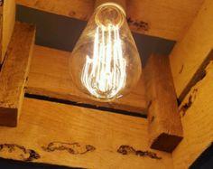 Pallet Lampada by UPitaly on Etsy