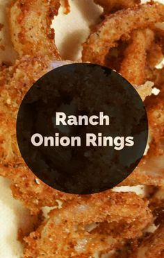On The Chew, Michael Symon was inspired to create Ranch Onion Rings out of flavored chips, which he then used to top a burger. This is one drool-worthy recipe you won't want to pass up!