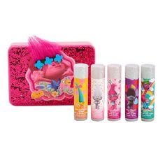Girls 4-16 DreamWorks Trolls Poppy 5-pk. Lip Balm & Tin Set, Multicolor
