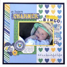A Born Charmer - Scrapbook.com