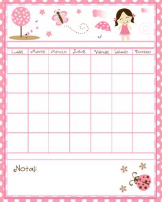Calendario - Pink Chocolate