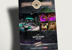 A print design for Station 31, by evokeu. evokeu.com