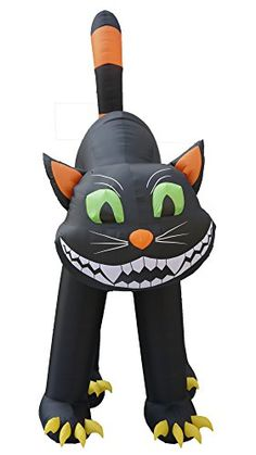 20 Foot Animated Halloween Inflatable Black Cat  http://www.bestdealstoys.com/20-foot-animated-halloween-inflatable-black-cat/