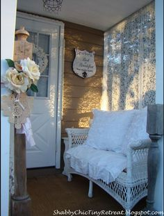 Fairytale Cottage Decorated In Shabby-Chic Style