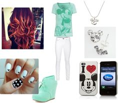 """""""Mickey_Mouse_Love"""" by jahlah on Polyvore"""