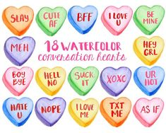 My Funny Valentine, Vintage Valentines, Valentine Candy Hearts, Valentine Crafts, Valentine Cookies, Painted Letters, Hand Painted Signs, Conversation Hearts Candy, Create A Banner