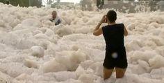 marée d'écume en Australie