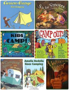 Great books to read in the tent {flashlight recommended}!