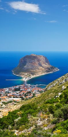 Booking tourism: 15 Most Beautiful Villages in Europe Places Around The World, Around The Worlds, Monemvasia Greece, Santorini, Places To Travel, Places To Go, Cotswold Villages, Picture Postcards, Beautiful Places To Visit