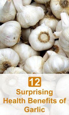 Garlic is well known as a natural health remedy that has long been used to treat various ailments. Here are 12 Surprising Health Benefits of Garlic - Selfcarers health and personal care stores Holistic Nutrition, Health And Nutrition, Health Tips, Health And Wellness, Wellness Tips, Natural Health Remedies, Natural Cures, Natural Healing, Herbal Remedies