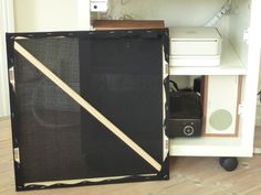 IKEA Hackers: Small Lack media furniture with speaker camouflage