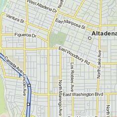 10 Best Pasadena Map images
