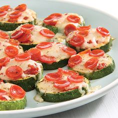 Zucchini Pizza Bites - Recipe from Price Chopper w/ Video