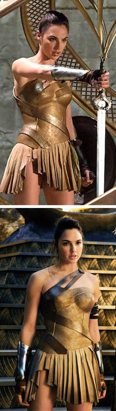Gal Gadot as Diana in Wonder Woman (2017).