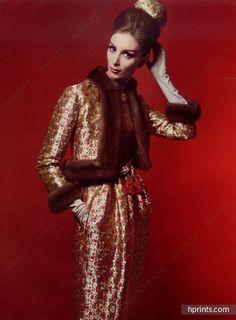 Christian Dior (Couture) 1962 Ensemble de Cocktail, Photo Philippe Pottier…