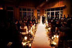 Photographer:  Pepper Nix Photography Event Planner: Kristin Spear for Soiree Productions  Event Venue: Deer Valley Resort  Floral Designer: Artisan Bloom  Dress Designer: Heidi Elnora  www.peppernix.com #winterweddings #utahweddings #weddingidea #weddinginspo  #ceremonydecor