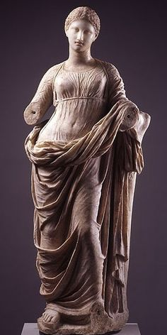 Marble of Muse - perhaps Parian period, circa 3th to 2nd centuries BC.