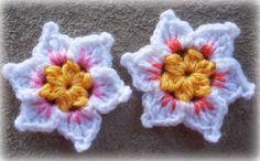 Daffodil crochet flower pattern
