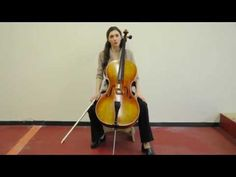 Olga Redkina: Online Cello Lessons - 8 - Cello Arpeggios.