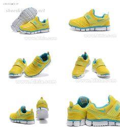 nike Baby Shoes kids 2011 yellow