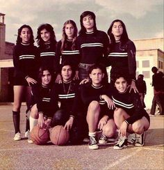 Beautiful IRAN before The Dark Islamic Revolution 1979 - High school basketball team, Abadan, Iran (late 1960's)