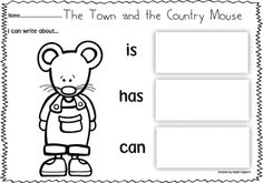 The Town and the Country Mouse-Book Companion