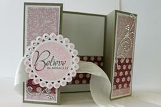 Splitcoaststampers - Tutorials Double Z-fold Card