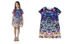 @robertocavalli Junior Spring Summer 2014, Artemisia dress #robertocavalli #robertocavallijunior #springsummer2014 #SS14 #children #kids #childrenwear #kidswear #girls