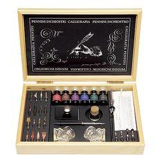 カリグラフィーセット Calligraphy Fonts, Fountain Pen, Projects To Try, Stationery, Weddings, Writing, Cool Stuff, Studio, Crafts