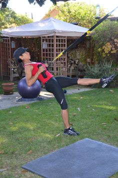 TRX I'm trying to get that go girl!