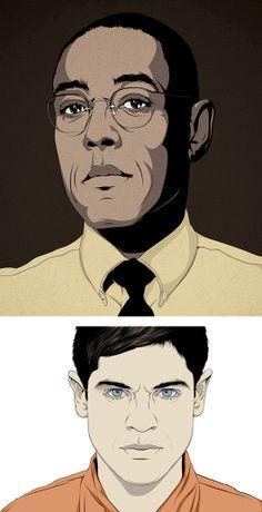 Illustrations by CranioDsgn | Inspiration Grid | Design Inspiration
