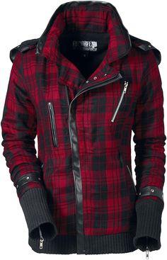 Poizen Industries Z Jacket Girls jacket black-red XL