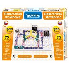 BOFFIN 500 elektronikai tudományos és ismeretterjesztő építőjáték 8 éves kortól - BOFFIN