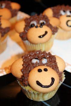 Monkey Cupcakes - All Things Cupcake