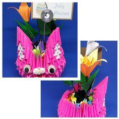 Artes da Yone !: Coelhinho de Origami !! A Páscoa vem ai ...