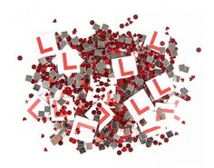 Decorate your Hens Party with this awesome bag of Hens Night L Plate Confetti. It comes in a bag and has a mixture of miniature L plates, shiny silver squares and shiny red dots. Hens Night Games, Hens Party Supplies, Hens Night Decorations, Red Dots, Confetti, Balloons, Banner, Things To Come, Miniatures
