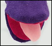 Puppet Crafts for Kids- no sew sock puppet. Something to do with the socks the puppy didn't eat!
