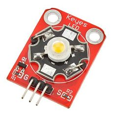 DIY 3W 180~210lm 6000~7000K LED High Power Module for Arduino (Works with Official Arduino Boards)