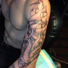 99 Meilleures Images Du Tableau Tattoo Kraken Tattoo Octopus